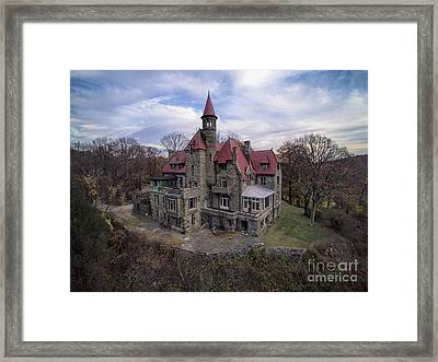 Castle Rock Framed Print