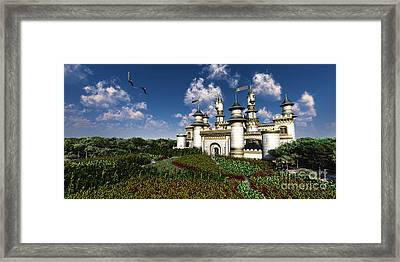 Castle Royal Framed Print by Corey Ford