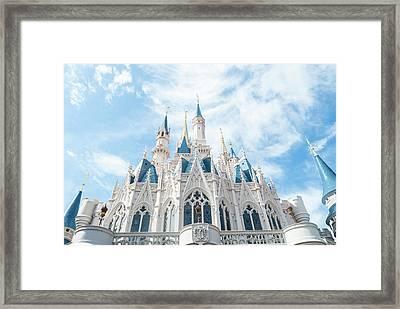 Castle Sky Framed Print by Pamela Williams