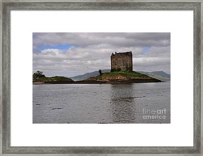 Castle Stalker Framed Print by Nichola Denny