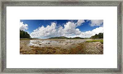 Castle Tioram Panorama Framed Print