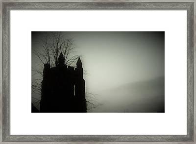 Castle Tower Framed Print by Joyce Wasser