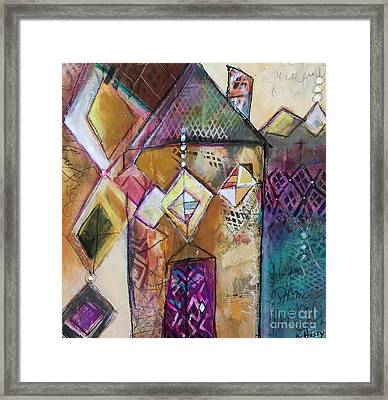 Castle Tower Framed Print