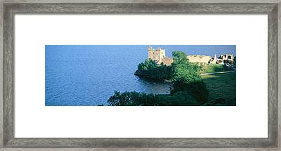 Castle Urquhart, Loch Ness, Scotland Framed Print by Panoramic Images