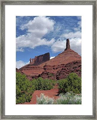 Castle Valley 3 Framed Print by Jeff Brunton
