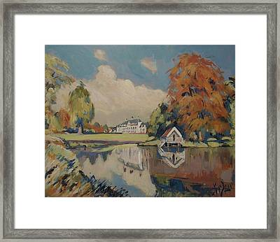 Castle Vliek Framed Print