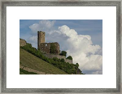 Castle With Clouds 02 Framed Print by Teresa Mucha