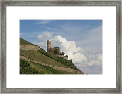 Castle With Clouds Framed Print by Teresa Mucha
