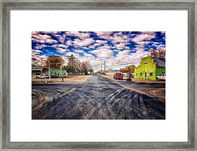 Castleford Idaho Framed Print