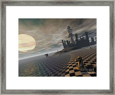 Castlekeep Framed Print