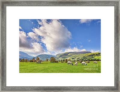 Castlerigg Stone Circle Framed Print by Colin and Linda McKie