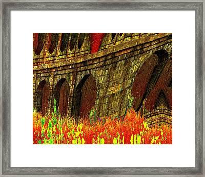 Castles Burning Framed Print by Cliff Wilson