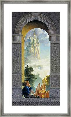 Castles In The Sky Framed Print by Greg Olsen