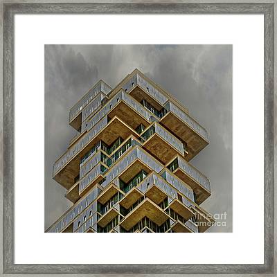 Castles In The Sky Framed Print by Peter Smejkal