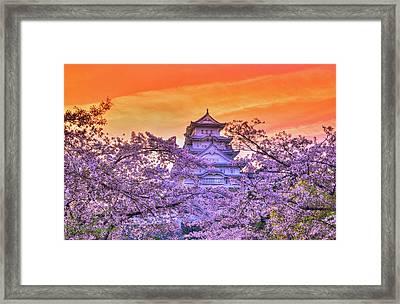 Castle's Meloday Framed Print