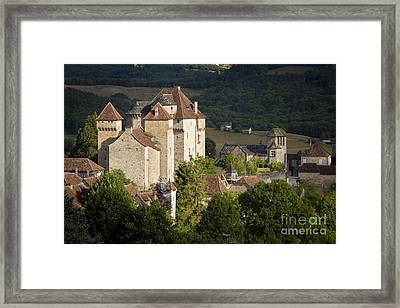 Castles Of Curemont Framed Print by Brian Jannsen
