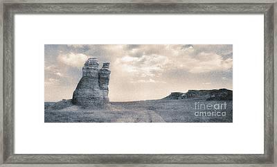 Castles Of Wonder Framed Print