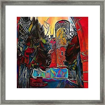 castles - My WWW vikinek-art.com Framed Print