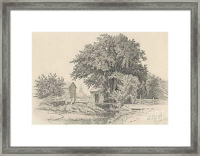 Castleton, Vermont, 1871 Framed Print
