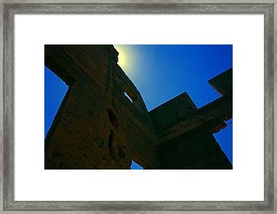 Castlewood Remains Framed Print by Mike Flynn