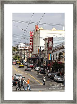 Castro Theater In San Francisco . 7d7572 Framed Print by Wingsdomain Art and Photography