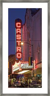 Castro Theater San Francisco Framed Print by Matthew Bamberg