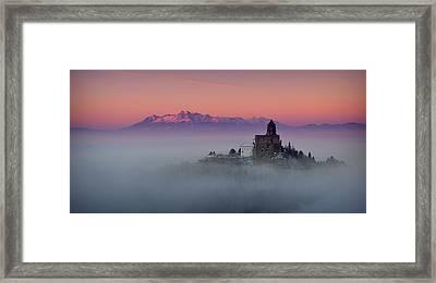 Castrum Liblou Framed Print