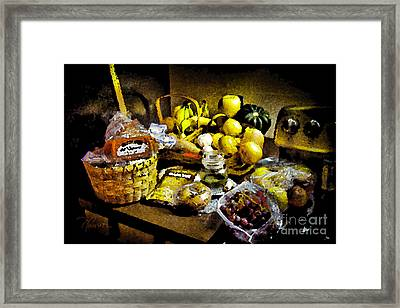 Casual Affluence Framed Print