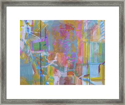 Casual Male In Minor Framed Print by Howard Stroman