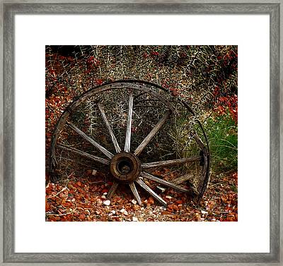 Casualty II  Framed Print by Julie Dant