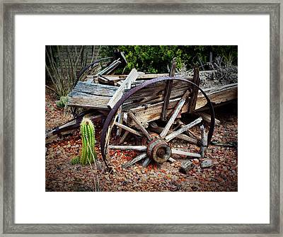 Casualty IIi  Framed Print by Julie Dant