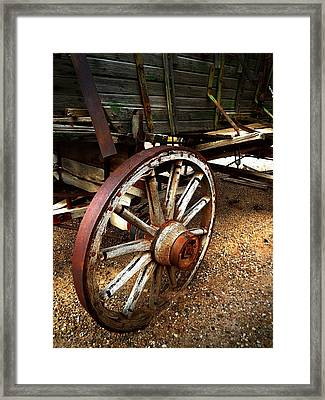 Casualty Iv  Framed Print by Julie Dant