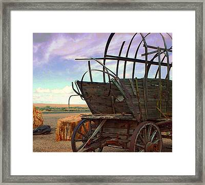 Casualty V Framed Print