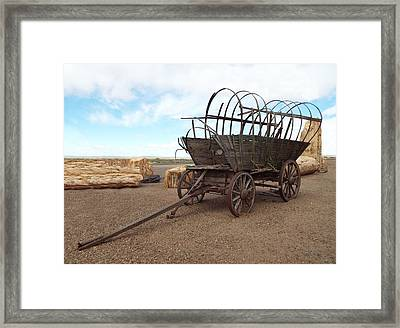 Casualty Vi A Framed Print by Julie Dant