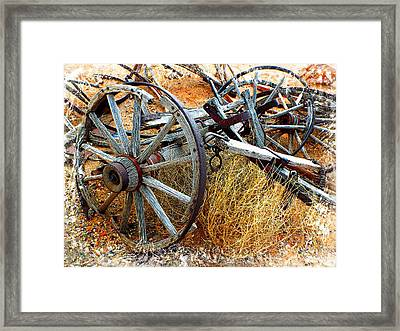 Casualty Vii Framed Print by Julie Dant