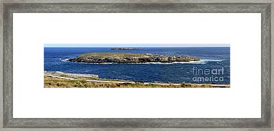 Framed Print featuring the photograph Casuarina Islets by Stephen Mitchell