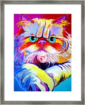 Cat - Tigger Framed Print by Alicia VanNoy Call