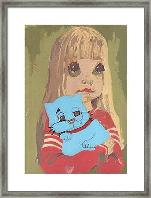 Cat 2 Framed Print by William Douglas