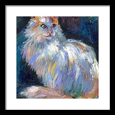 Lovecats Framed Prints