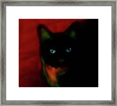 Cat Tiny You Painting Framed Print