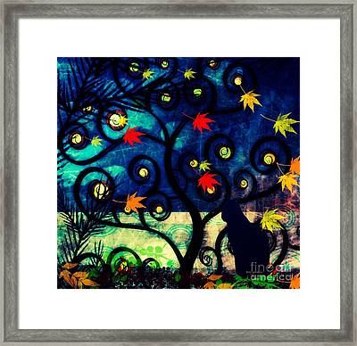 Cat Watch  Framed Print by Kim Prowse