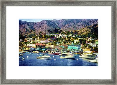 Catalina Express  View Framed Print