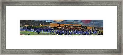 Catalina Foothills High School Graduation 2016 Framed Print