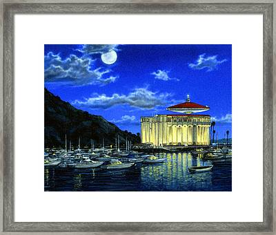 Catalina Ufo Framed Print by Snake Jagger