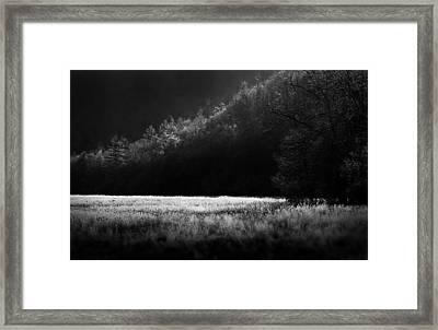 Cataloochee Morning Framed Print