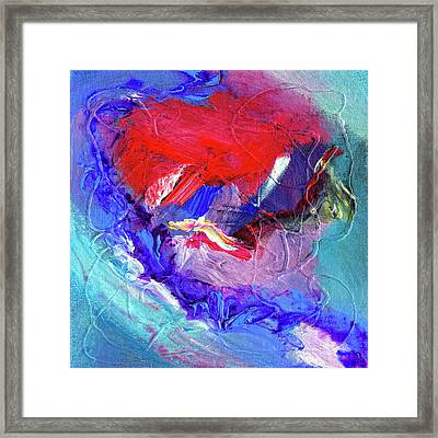 Framed Print featuring the painting Catalyst by Dominic Piperata