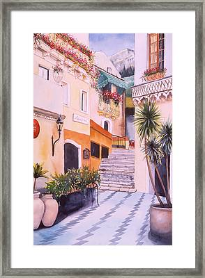 Catania Framed Print by Leah Wiedemer