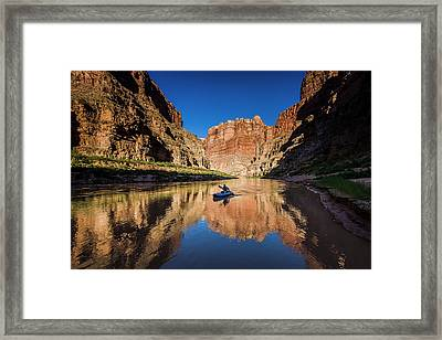 Cataract Canyon Framed Print