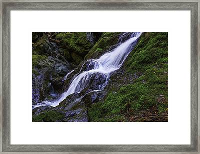 Cataract Falls Framed Print by Garry Gay