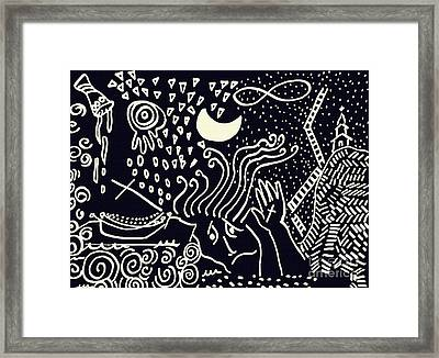 Catastrophe 3 Framed Print